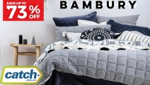 Snuggle Up in Luxurious Comfort for Less with Up to 73% Off Bambury Quilt Cover Sets! Shop a Range of Elegant Designs from Single to King Sizes