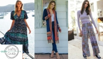Infuse a Touch of Boho-Chic to Your Style w/ the EOFY Sale at Salty Crush! Shop Up to 80% Off Boho-Luxe Women's Fashion Incl. Knits, Dresses & More