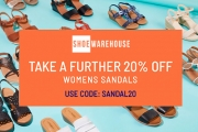 Summer is Sandal Weather! Don't Break the Bank w/ 20% Off Women's Sandals @ Shoe Warehouse! CODE: SANDAL20. Brands Incl. Hush Puppies, Clarks & More