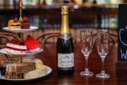 Dine Like Royalty with an Indulgent High Tea Experience + Sparkling Wine @ Cicchetti Restaurant & Wine Bar! Located on the 2nd Floor of the QVB