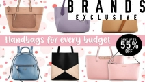 Bag a Bargain w/ Handbags for Every Budget! Everything from Totes & Clutches to Backpacks. Ft. Favourite Brands like Tony Bianco, Milleni & More!