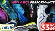 Get Sprinting w/ Up to 33% Off New Season ASICS Performance Footwear! Shop the GEL-Kayano 25 Solar Shower Shoe, GEL-Nimbus 20 Sneaker & More