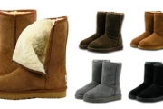 Keep Your Tootsies Warm & Toasty w/ Unisex Waratah UGG Mid Zip-Up Boots! Stylish & Water-Resistant w/ Premium Aus Sheepskin. Available in 4 Colours