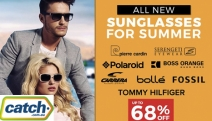 Sport Brand New Shades w/ the New Sunglasses for Summer Sale! Shop Up to 68% Off Big Brands Fossil, Pierre Cardin, Polaroid + More for Ladies & Gents