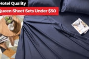 Refresh Your Bedroom for Less with 1000TC Fitted & Flat Sheets + Pillowcase Packs - All Under $60! Comes in a Range of Sizes & Colours