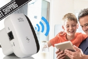 Put an End to Poor WiFi Signal with this WiFi Repeater from Just $29! Extends Range of WiFi Network on Weak Signal Areas in Your Home or Office
