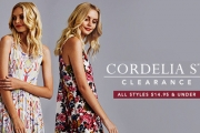 Make the Most Out of Your Curves w/ the Cordelia St Sale! Get Your Hands on This Innovative & Fun Fashion Range Designed in Sydney for Real Bodies