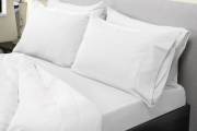 Lay Down in Total Comfort w/ a Set of 1000TC Bamboo Blend Sheets! Breathable Fabric in 3 Colours. Available in Double, Queen & King Sizes