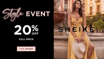'Tis the Season to Party! Whatever Your Event, Sheike Got You Covered! Get 20% Off Full Price Dresses, Jumpsuits, Skirts & More with Code STYLE20