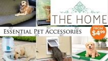 Get On Your Pet's Good Side with these Essential Pet Accessories! Shop Busy Buddy Dog Toys, Drinkwell Pet Fountain, PetSafe Cat Flap & Lots More