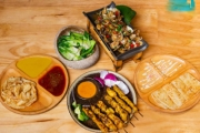 Savour Authentic Malaysian Street Food w/ a Set Menu for 2 at Mamak's Village Harbourside! Roti Planta, Satay Chicken & More. Opt for Up to 6-Ppl