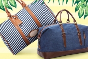 Travel in Style with a Classically Elegant Overnight Duffle Bag from $30! Plus P&H. Shop a Range of Colours & Styles - Perfect for Summer Getaways