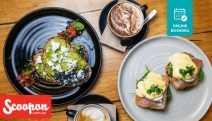 Head to Point Cook's Gemelli Cafe Grill for a Delightful Morning Treat! Enjoy Brekkie + Coffee for 2! Cornflake Crumbed Caramel French Toast + More