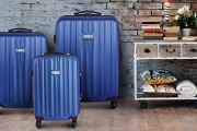 Travel in Style with a 3-Piece Luxury Milano Luggage Set! Ft. Hard & Shock-resistant ABS Shell Cases w/ TSA-Certified Locks, Available in 4 Colours
