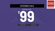 Step into Spring w/ Premium Footwear w/ Nothing Over $99 Sitewide at Shoe Warehouse! Ft. Big Brands Hush Puppies, Julius Marlow & More for Men & Women