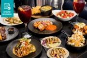 Send Taste Buds to a Mexican Culinary Journey w/ a Multi-Dish 'Feed Me' Fiesta for 2 + Drinks @ Mejico Miranda! Corn Lollipops, Churros, Tacos & More