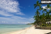 FIJI w/ FLIGHTS Stay Beachfront on the Coral Coast w/ 7-Nights at Fiji Hideaway Resort & Spa! Incl. Daily Brekkie, Activities, Spa Treatments & More
