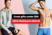 Fellas, Go Casual with Underwear and Loungewear from Designer Tommy Hilfiger Under $50! Incl. Briefs, Boxers, PJs & More. Great Christmas Gift Idea