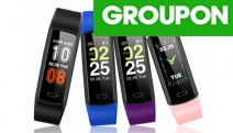 Track Your Fitness Journey w/ a Sport Fitness Tracker! 24-Hr Real-Time BP Monitor, Sleep Tracking, Call & Messages Alert + More in 4 Colours