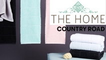 Wrap Yourself in the Contemporary Comfort of the Country Road Heath Towel Collection! Incl. Bath Sheets, Towels, Face Washers & More in Range of Colours