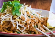 Give In to Your Thai Cravings with a Stunning Thai Lunch & Bottle of Water @ Five Stars Thaitanic! Green Chicken Curry, Beef Salad & More. 3 Locations