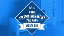 Turn Your Home into an Epic Cinema Experience with a Home Entertainment Package Worth $10k! TV, Sound System & More! Hurry, Get Your Free Entry In!