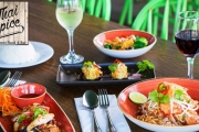 Get Ready for the Finest of Flavours w/ a Thai Feast for Two @ Thai Spice Pacific Fair! Incl. Entrees & Mains Plus Rice, Veggies & a Glass of Wine