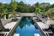 SENTOSA, SINGAPORE w/ FLIGHTS Relax w/ 5 Nights at 5* Sofitel Singapore Sentosa Resort! Ft. Brekkie, Two 60-Min Spa Treatments & More. Prime Location