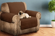Whether You Have Guests, Kids or Furry Friends, Protect Your Upholstery w/ a Reversible Life-Proof Sofa Cover! Machine Washable, 2 Sizes Available