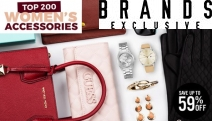 You Deserve to Treat Yourself! Shop these Top 200 Women's Accessories w/ Up to 59% Off Fossil Bags, Ray-Ban Shades, Tommy Hilfiger Watches & More