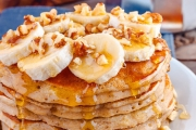 Treat Your Tastebuds to an All-Day Pancakes Brekkie + Coffee @ The Original Pancake Kitchen! Incl. Yummy Combos w/ Bacon, Eggs, Hash Browns & More