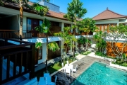 SEMINYAK w/ FLIGHTS Have a Ball w/ 6 Nights in Bali at D'djabu Hotel, Seminyak from Just $429 Incl. Flights! Deluxe Room w/ 2 Daily Meals & More