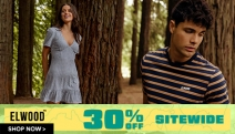 Is Your Wardrobe Worse for Wear? Get a Fresh New Look w/ 30% Off Sitewide at Elwood! Men's & Women's Fashion Inspired by the Australian Outdoors!