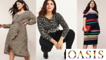 Flaunt those Curves with this Trendy Range of Plus Size Women's Fashion from Oasis! Shop Floral Dresses, Chic Blouses, Vibrant Knitwear & More