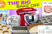Timers at the Ready - The BIG Bake Off is On! Save Up to 48% Off Baking Essentials - Mixers, Cookie Cutters, Tins, Trays, Cookbooks & So Much More!