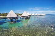 NEW CALEDONIA Say Bonjour to 3 Nights in a Luxurious Overwater Bungalow at Escapade Island + 4 Nights at Hilton Nouméa La Promenade Residences for 2
