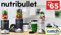 Transform Ordinary Food Into Superfood w/ a NutriBullet Blender Set! Break Down Fruits, Vegetables, Nuts & Seeds to their Most Absorbable Form