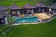 UBUD Tranquil 3-Night Retreat in a Private Villa Amidst the Rice Paddies at Kayangan Villa Ubud! 60-Min Balinese Massages, Dining Inclusions & More