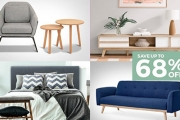 Makeover Your Space w/ the Home Furniture Refresh Sale! Plus P&H. Think Chest of Draws, Coffee Tables, Accent Armchairs, Kitchen Bar Stools & More