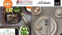 Impress Your Guests with this Chic Range of Dinner Sets! Enjoy Up to 64% Off Salt & Pepper, Maxwell & Williams, Noritake, Linen House & More