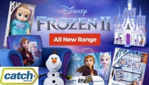 Relive All the Magic of the New Movie w/ this Great Range of Toys & Games from Frozen II! Singing Anna Doll, Glitter Dream Diary, Plush Toys & More