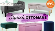 Living Room Missing Something? Add the Finishing Touch w/ the Ottomans for Every Home Sale! Up to 57% Off Artiss, Life Interiors, Feels Like Home & More