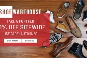 Shop New Season Shoes & Take a Further 20% Off Sitewide at Shoe Warehouse w/ Code: AUTUMN20, Plus P&H. Think Boots, Slippers, Sneakers & More