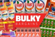 Stock Up on the Essentials with 500+ Bulk Grocery Deals! Shop Big Brands Incl. Finish Dishwasher Tablets, Vittoria Coffee, Gillette Cartridges & More