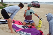 Learn Kitesurfing with a 3-Hour Beginners Group Kitesurfing Lesson from Prokite! Incl. 10% Off Further Lessons Booked. Opt w/ a Pal. Suitable for 15+