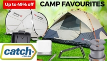 Create Memorable Outdoor Adventures with these Weekend Camping Favourites! Shop Tents, Portable BBQ Grills, LED Light Fans, Headlamps & More