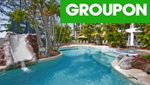 SUNSHINE COAST Up to 3-Night Coastal Break for 2 or 4-Ppl at Ramada Resort Golden Beach, Caloundra! Ocean-View Self-Contained Accom w/ Wine & More