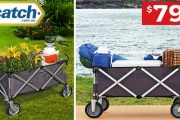 Save Your Back & Your Wallet w/ the Bestselling Collapsible Wagon Cart from $79! Plus P&H. Sturdy Handle, All Terrain Wheels + Carries Up to 80kg!
