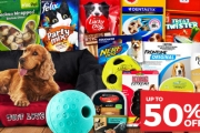Keep Your Furry Friends Happy, Stylish & Comfy w/ the One Stop Pet Shop Sale! Shop Pet Essentials Incl. Food, Flea Treatments, Toys & More. Plus P&H