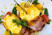 Satisfy Your Hunger with a Hearty All-day Brekkie or Lunch w/ Drinks for 2 at Soleil Restaurant in Parkwood! Ft. Eggs Benedict, Seafood Basket & More